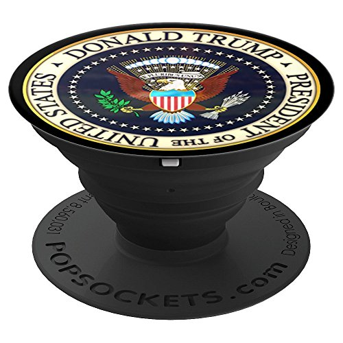 ident Seal USA POTUS America - PopSockets Grip and Stand for Phones and Tablets ()