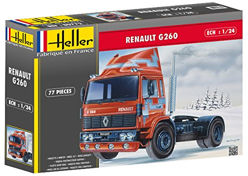 Heller HEL80771 Model Kit, Various