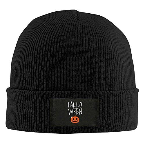 RZM YLY Halloween Pumpkin Winter Acrylic Knit Hat Soft Warm Beanie Hat]()