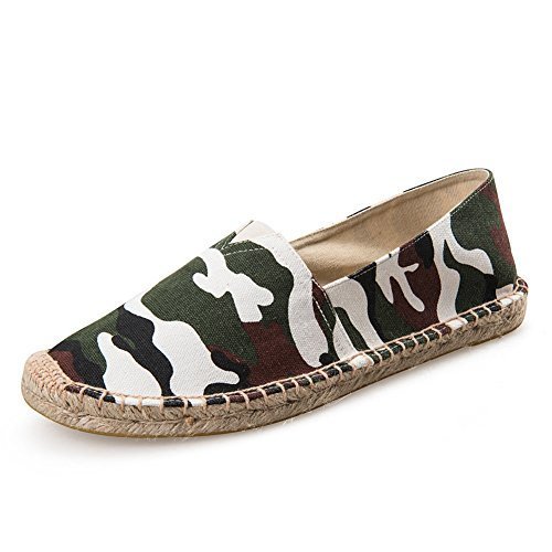 Camo Cool Slip On Loafers Driving Shoe