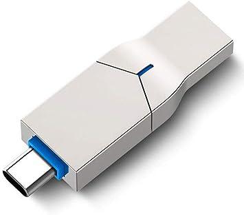 Smartphone Memorias 2 en 1 Pen Drive Aleación de Zinc Metal USB3.0 ...