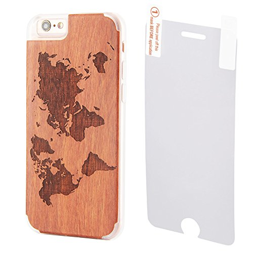 Natural Carving Engraved Tempered Protector