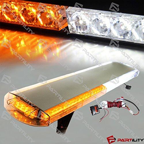 30 inch 56 LED Emergency Warn Truck Strobe Tow Light Bar (813 Six Light)
