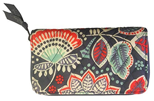 Vera Bradley Accordion Wallet (One size, Nomadic Floral/Grey interior)