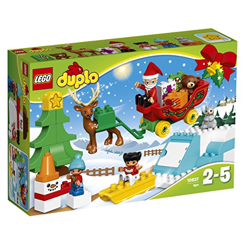 Lego Duplo Town Santas Winter Holiday Building Kit  45 Piece