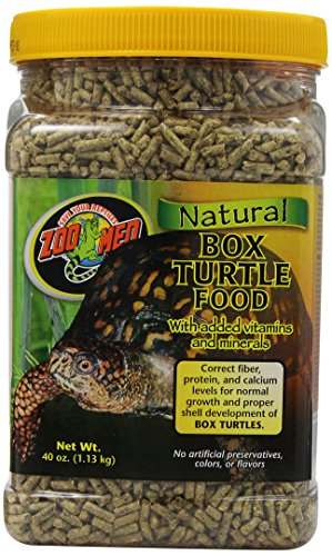 Zoo Med Natural Box Turtle Food, 40-Ounce by Zoo Med