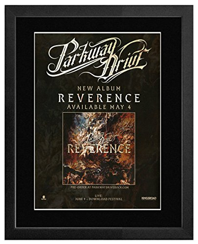 Stick It On Your Wall Parkway Drive - New Album 2018 - Reverence Framed Mini Poster - 44x33cm