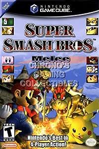 "CGC Huge Poster - Super Smash Brothers BOX ART - Nintendo GameCube GC - NGC065 (16"" X 24"")"