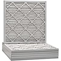 21x21x1 Dust & Pollen Merv 8 Pleated Replacement AC Furnace Air Filter (6 Pack)