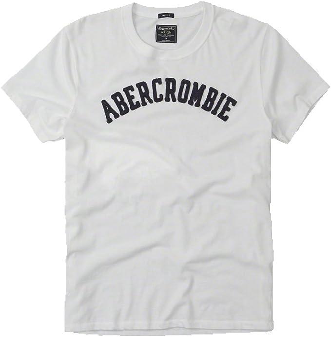 Abercrombie & Fitch Homme Applique Logo Graphic T Shirt en