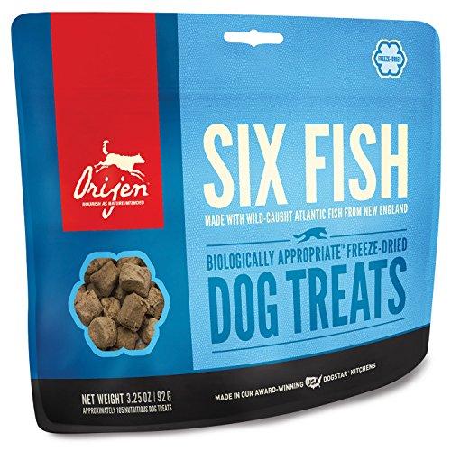 Orijen 6 Fish Dog (Orijen Six-Fish Freeze-dried Treats 3.25 Oz)