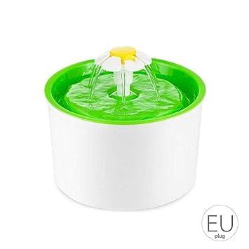 Provide The Best Plástico Forma eléctrico automático para Mascotas Fuente de Agua de Flor de Gato del Perro de la Bebida del alimentador del Agua Potable ...