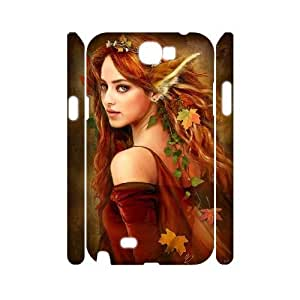 Cheap 3D Samsung Galaxy Note 2 N7100 Case, Fairy quote New Fashion Phone Case