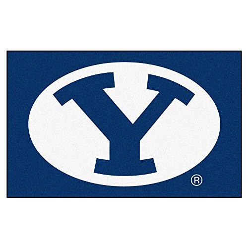 Brigham Young University Logo Area Rug - Cougars Home Byu Office