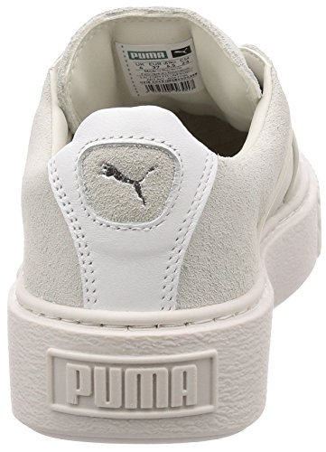Whisper Platform Puma White X Mode Femme Baskets Blanc UpApYw