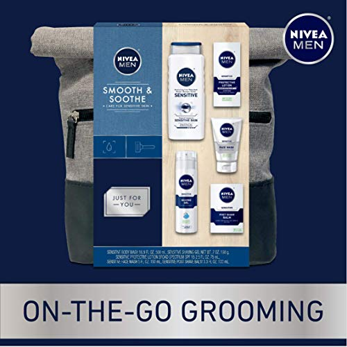 NIVEA Men Dapper Duffel Gift Set - 5 Piece Collection Of On-The-Go Grooming Needs with Travel Bag Included 2