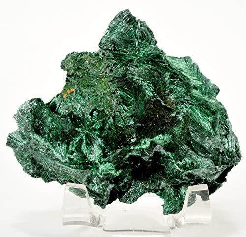 250 Carat Fibrous Velvet Malachite Rough Green Natural Crystal Freeform Cluster Sparkling Mineral Gemstone Specimen - China
