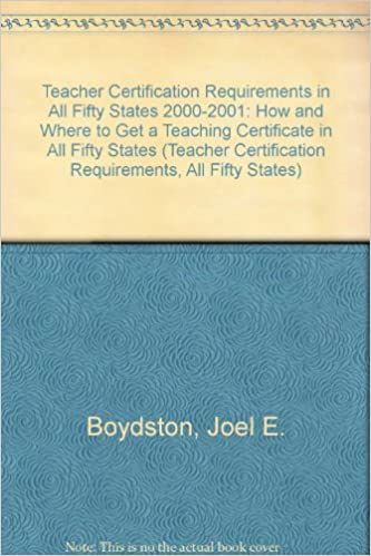 Amazon.com: Teacher Certification Requirements in All Fifty States ...