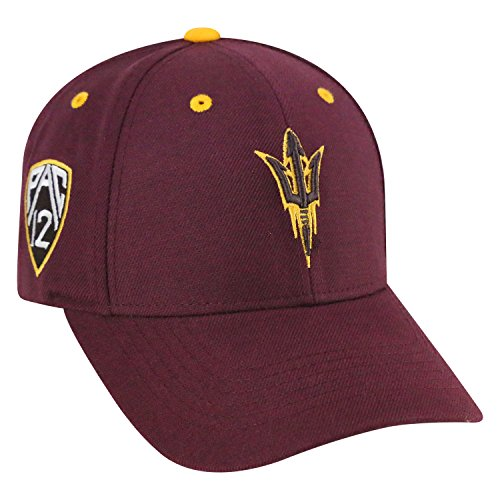 Top of the World NCAA-Triple Conference-Adjustable Hat Cap-Arizona State Sun - University Arizona State Basketball