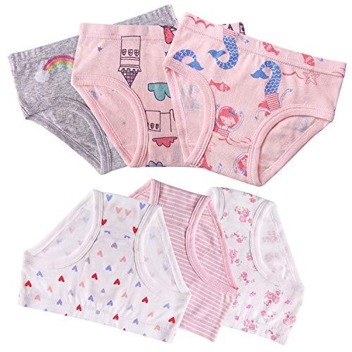 Seekay Girls Underwear Briefs, Organic Cotton, Tagless,5-6 Years by Seekay (Image #3)