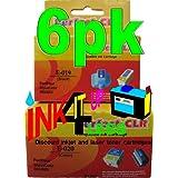 non OEM (3B+3C) T019 T019201 T020 T020201 Compatible Ink Cartridges fits For Epson Inkjet Printers Stylus Color 8-3, Stylus Color 880, Stylus Color 880i. by RemanSupplies