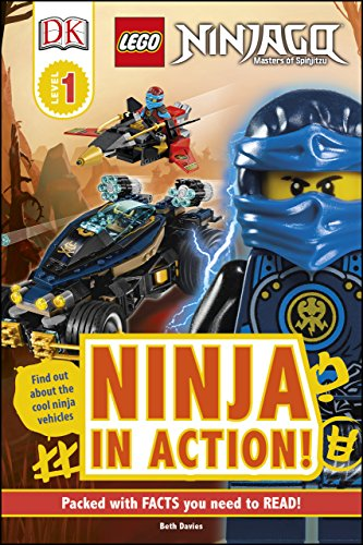 Amazon.com: DK Readers L1: LEGO NINJAGO: Ninja in Action (DK ...