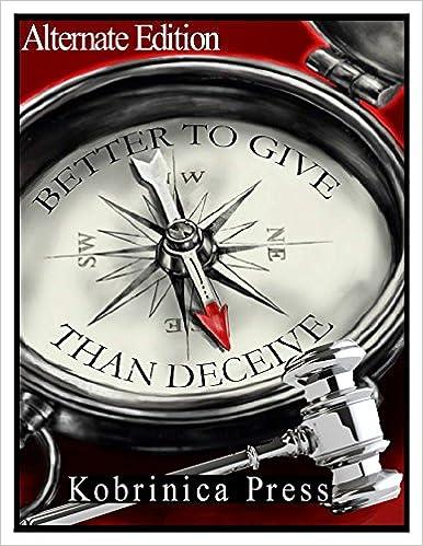 Downloadning af pdf-bøger gratis Better To Give Than Deceive: Alternate Edition PDF iBook