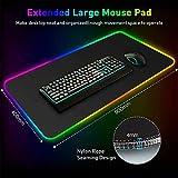 Large Computer Keyboard Mat RGB Oversized Led