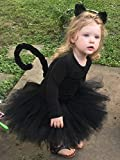 Black Cat Tutu Costume - Toddler