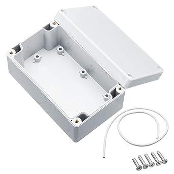 RanDal Caja De Proyecto Electrónica Carcasa De Gabinete De Caja De ...