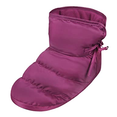 63c673706bdd Unisex Winter Quilted Down Ankle Bootie House Slippers Warm Cozy Indoor  Slippers
