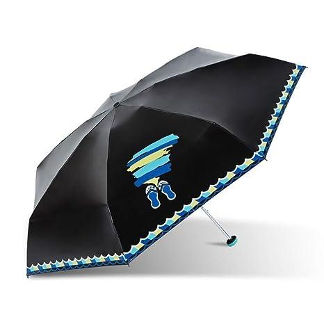 Sombrillas/Paraguas Plegable/Paraguas Negro/Paraguas De ...