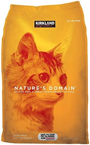 Kirkland Signatures Nature s Domain Cat Food 18 lbs.