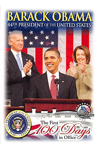Barack Obama, Joe Biden & Nancy Pelosi trading card (44th President of the United States) 2009 Merrick Mint #11 Autograph Warehouse