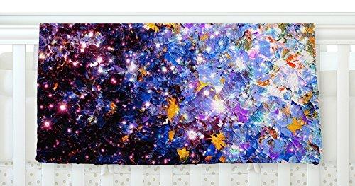 KESS InHouse Ebi Emporium Midnight Serenade Blue Purple Fleece Baby Blanket 40 x 30 [並行輸入品]   B077ZTRM84
