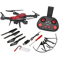 Hitec Multiplex Japan LISHITOYS 2.4GHz 4ch+1ch Foldable FPV Drone LUMINOUS L6060-R2 (MODE2) (RED)【Japan Domestic genuine products】【Ships from JAPAN】