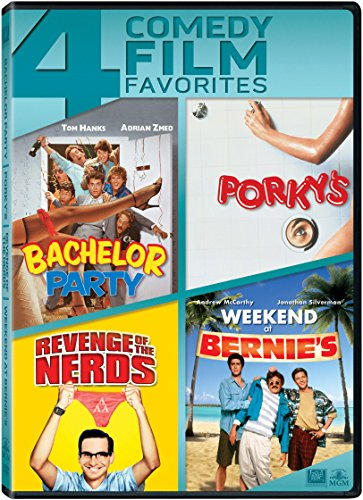 DVD : Bachelor Party / Porky S / Revenge of the Nerds (Widescreen)