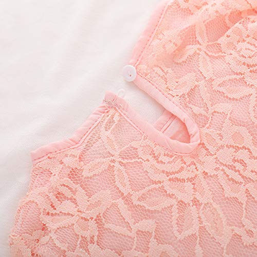 BELS-Baby-Girls-Princess-Dress-Lace-Flower-White-Party-Wedding-Summer-Dress-Clothes