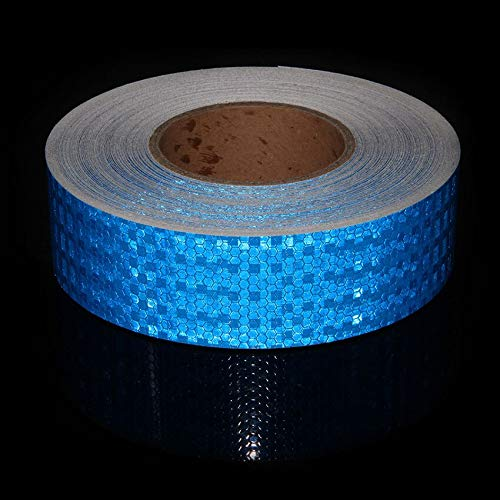 Ganos Bike Sticker - 5cmx50m Bicycle Safety Warning Conspicuity Reflective Tape Stripes Stickers Protection Bike