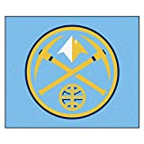 FANMATS 19437 NBA - Denver Nuggets Tailgater Rug , Team Color, 59.5''x71''