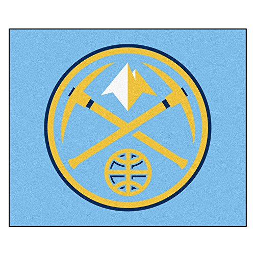 FANMATS 19437 NBA - Denver Nuggets Tailgater Rug , Team Color, 59.5''x71'' by Fanmats