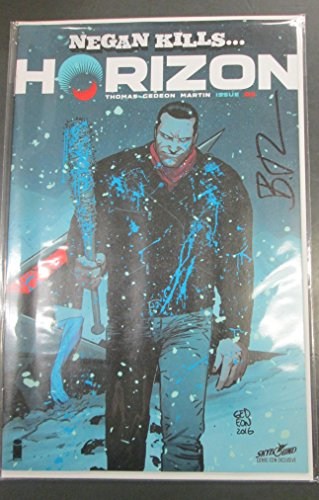HORIZON #3 NEGAN KILLS NYCC EXCLUSIVE VARIANT AUTOGRAPHED IMAGE COMICS