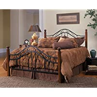 Axente Textured Black Queen Bed Set (Rail Not Included)
