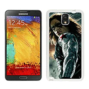 Samsung Galaxy Note 3 The Winter Soldier White Screen Cellphone Case Fashion and Newest Design