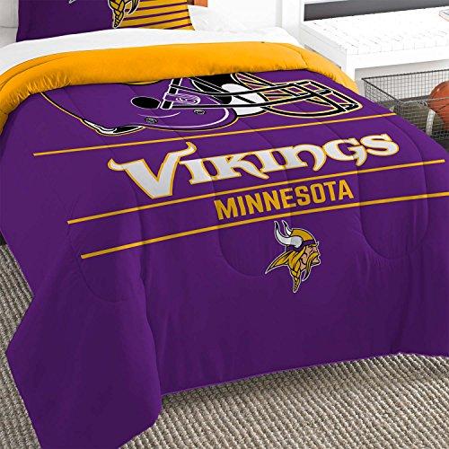 The Northwest Co mpany NFL Minnesota Vikings Draft Twin 2-piece Comforter Set