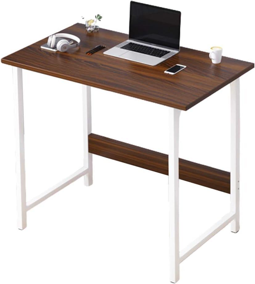 AKT Computer Desk Desktop Home Office Desk Bedroom Study Table Modern Easy Installation Table, 60x30x68cm