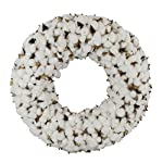 Cotton-Wreath-With-Burlap-Bow-For-Rustic-Farmhouse-Decor-18-inches