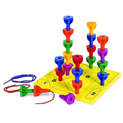Rainbow Peg (Learning Resources Rainbow Peg Play Activity Set)