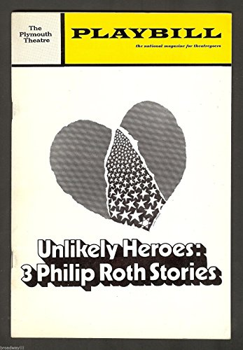 "Lou Jacobi ""Objectionable HEROES"" Philip Roth / Josh Mostel '71 FLOP Opening Playbill"