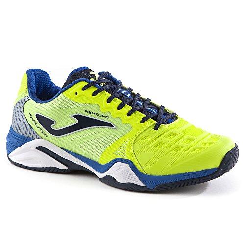 Zapatillas de tenis de hombre T.Pro Roland Joma amarillo FLUO